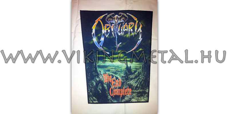 Obituary - The End Complete hátfelvarró