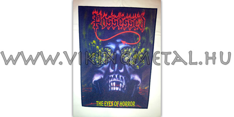 Possessed - The Eyes of Horror hátfelvarró