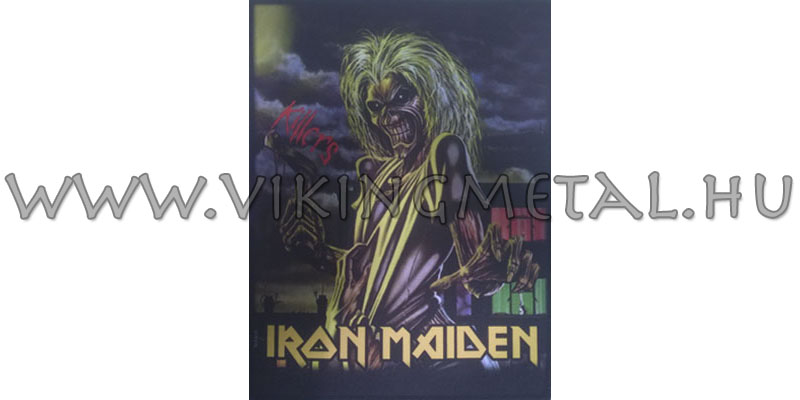 Iron Maiden - Killers hátfelvarró