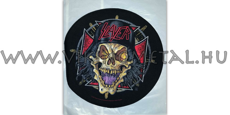 Slayer hátfelvarró