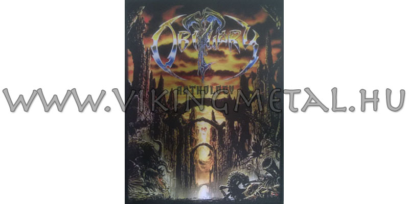 Obituary - Anthology hátfelvarró