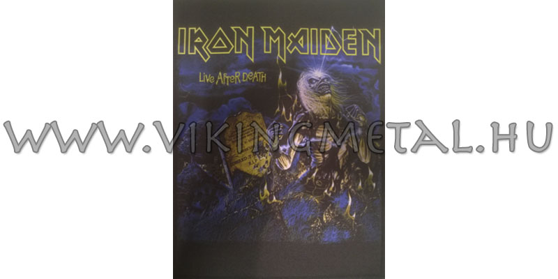 Iron Maiden - Life After Death hátfelvarró