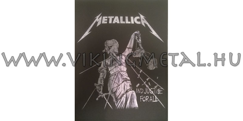 Metallica - ...And Justice For All hátfelvarró