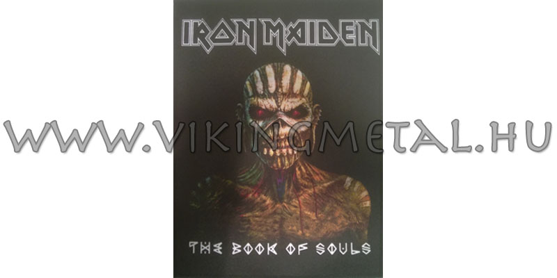 Iron Maiden – The Book Of Souls hátfelvarró