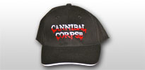 Cannibal Corpse baseball sapka