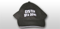 System of a Down baseball sapka