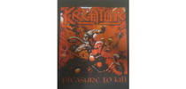 Kreator - Pleasure to Kill hátfelvarró