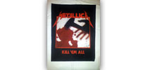 Metallica - Kill em all hátfelvarró