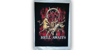 Slayer - Hell Awaits hátfelvarró